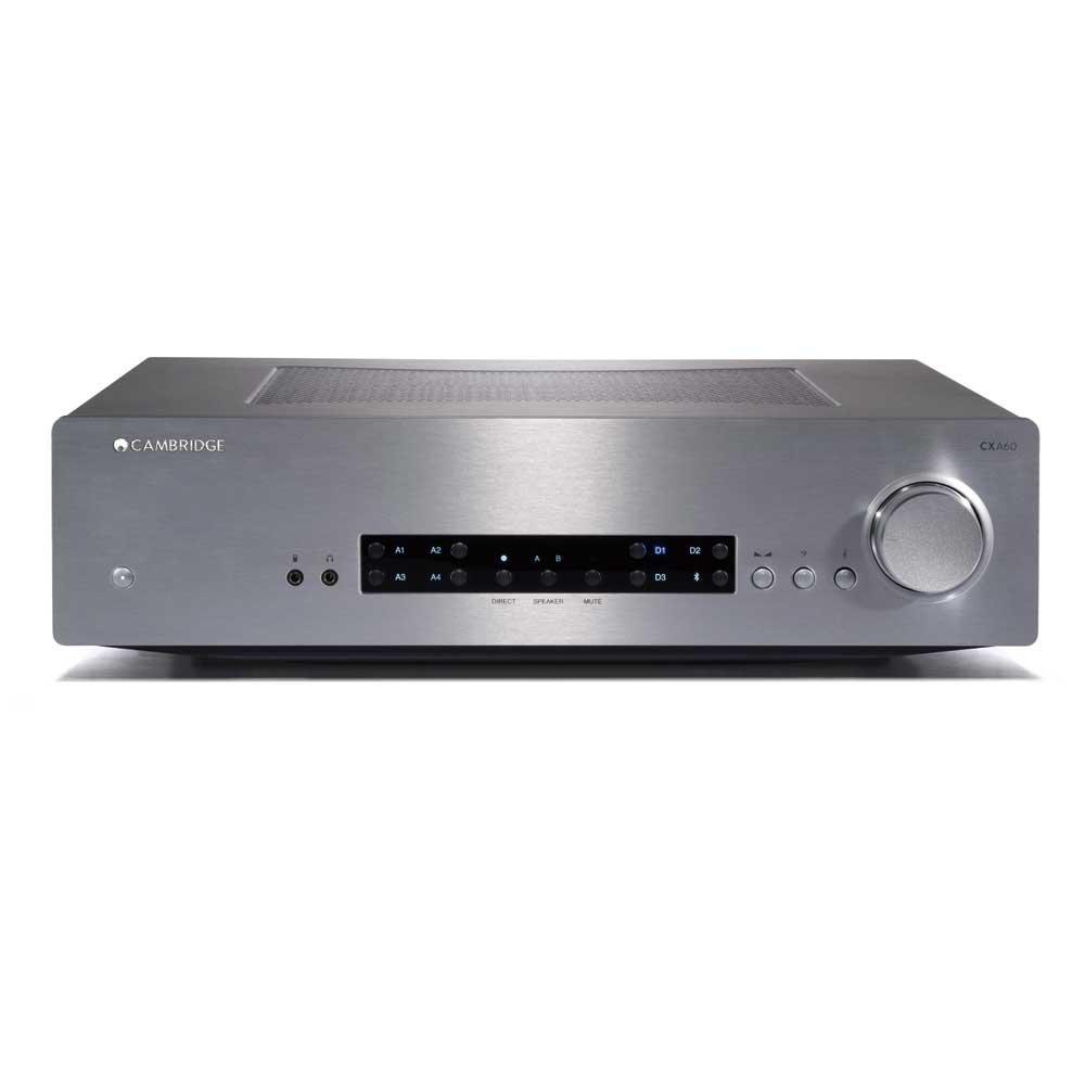 Cambridge Audio ケンブリッジ オーディオ CXA60 インテグレーテッド プリメインアンプ CXA60SLV シルバー CXA60SLV B075YP6RWL シルバー