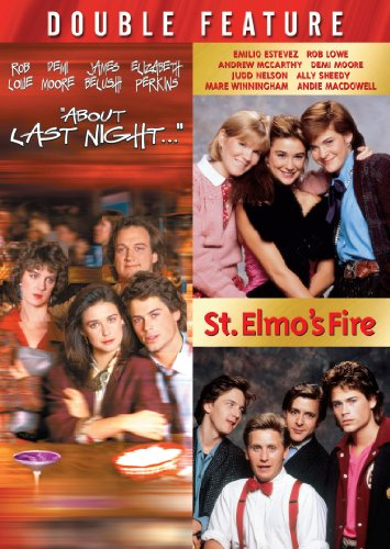DVD : About Last Night... / St. Elmo's Fire (Widescreen, Dolby, 2 Disc)