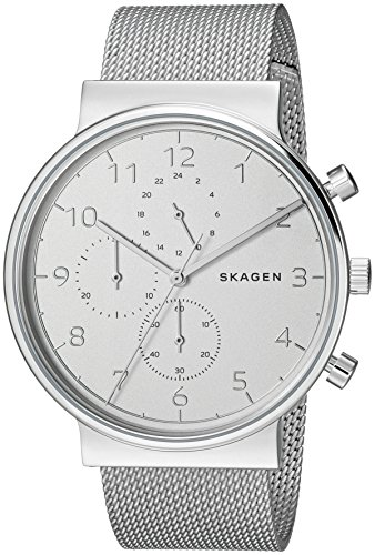Skagen  Men's  SKW6361 Ancher Steel-Mesh Chronograph