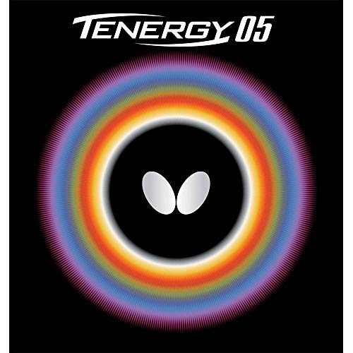 Butterfly Tenergy 05 Table Tennis Rubber Table Tennis Rubber | 1.7, 1.9, or 2.1 mm | Red or Black | 1 Table Tennis Racket Rubber Sheet | Professional Table Tennis Rubber