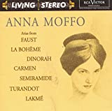 Arias from Faust, La bohème, Dinorah, Carmen, Turandot, Semiramide, Lakmé
