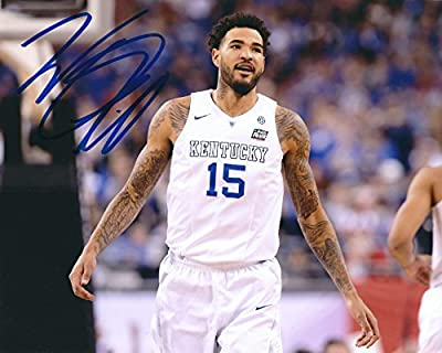Autographed Willie Cauley-Stein Kentucky Wildcats 8x10 Photo