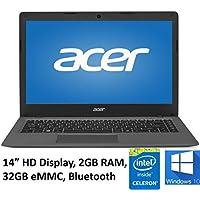 Acer Aspire One Cloudbook 14 Laptop PC, Intel Celeron N3050 1.6GHz, 2GB DDR3L Memory, 32GB eMMC, Webcam, HDMI, 802.11ac WIFI, Bluetooth, Windows 10 (Certified Refurbished)