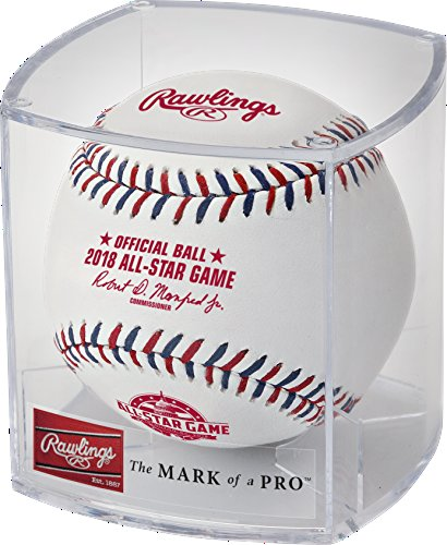 Rawlings 2018 All Star Official Game Baseball - Washington DC - ASBB18R - New in Rawlings Cube - All Star Game Collectible Baseball