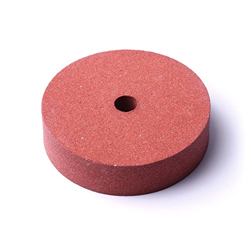Atoplee 1pc 75mm Diameter Grit 120# Polishing Grinding Stone Wheel for Bench Grinders (Grinder Stone)