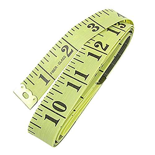 SellnShip-Tailor-Inch-Inchi-Tape-Measure-for-Body-Measurement-Sewing-Dressmaking-150-cm-60-Inches-Ruler-Durable-Soft-Flexible-Fiberglass-Random-Multicolor