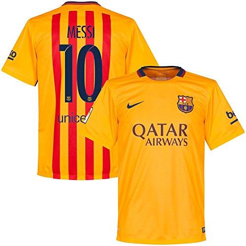 Barcellona Messi maglia trasferta 2015/2016