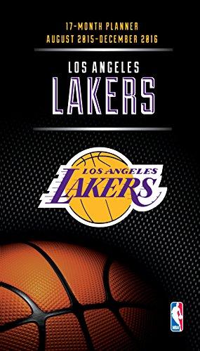 Lang Turner Los Angeles Lakers 17 Month Planner, August 2...
