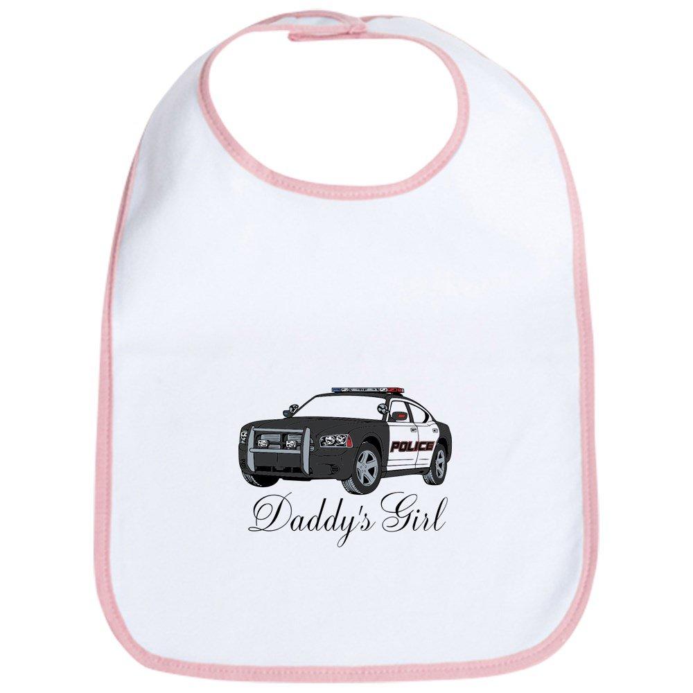 CafePress - Daddy's Girl Police - Cute Cloth Baby Bib, Toddler Bib