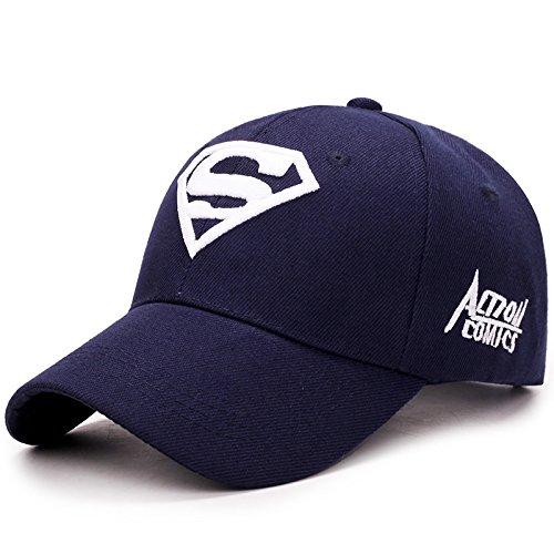 zhpjjlyhtq Outdoor Baseball Cap_Hat Casual Sports Super Men and Women,Royal Blue, adjustable