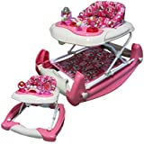 Big Oshi 2 in 1 Walker Rocker, Pink/Cream