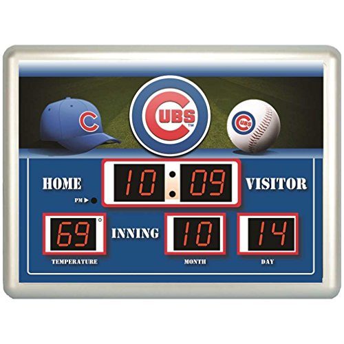 Scoreboard Mlb Clock (MLB Cubs LED Outdoor /Indoor Scoreboard Clock)