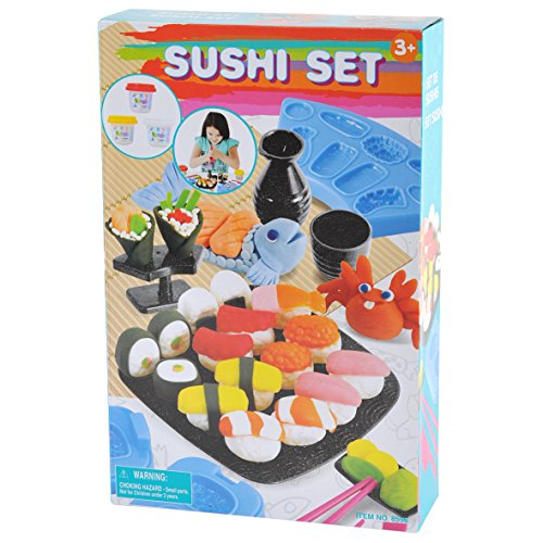 Wood Sushi (PlayGo Sushi Set Clay Dough)