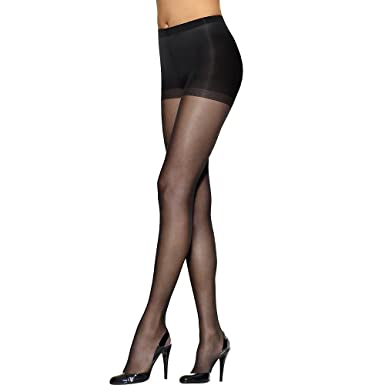 7805bf797 L`Eggs Silken Mist Women`s Ultra Sheer Run Resist Pantyhose at ...