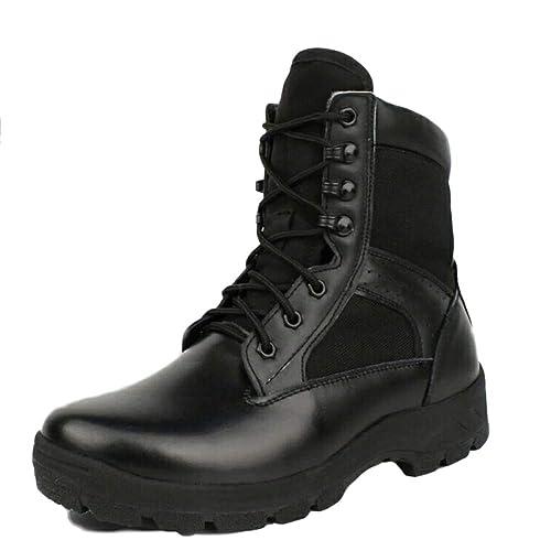 Botas Tácticas Hombres Arena Desierto Ligero Transpirable Botas Militares Altas: Amazon.es: Zapatos y complementos