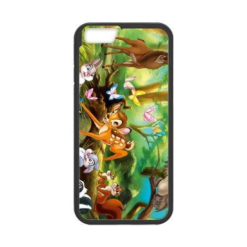 Bambi 018 coque iPhone 6 4.7 Inch cellulaire cas coque de téléphone cas téléphone cellulaire noir couvercle EOKXLLNCD26205