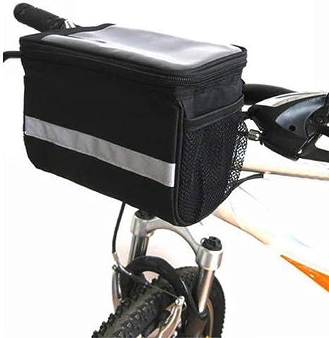 XPhonew Cesta para manillar de bicicleta, 3,5 L bolsa para ...