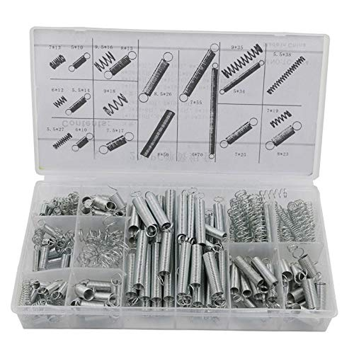 Jienie 200 PCS Hardware Spring/spring Tension Spring/Pressure/Suit/A Goup With