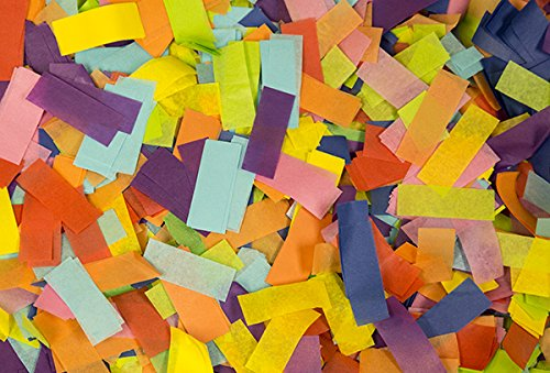 Multicolor Tissue Confetti by Ultimate (Tissue Paper Confetti)