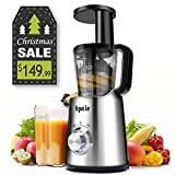 Argus Le Electronic Control Slow Masticating Juicer, Automatic Speed...