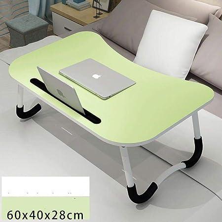 LYCV Mesa de Escritorio para computadora portátil Mesa Plegable ...
