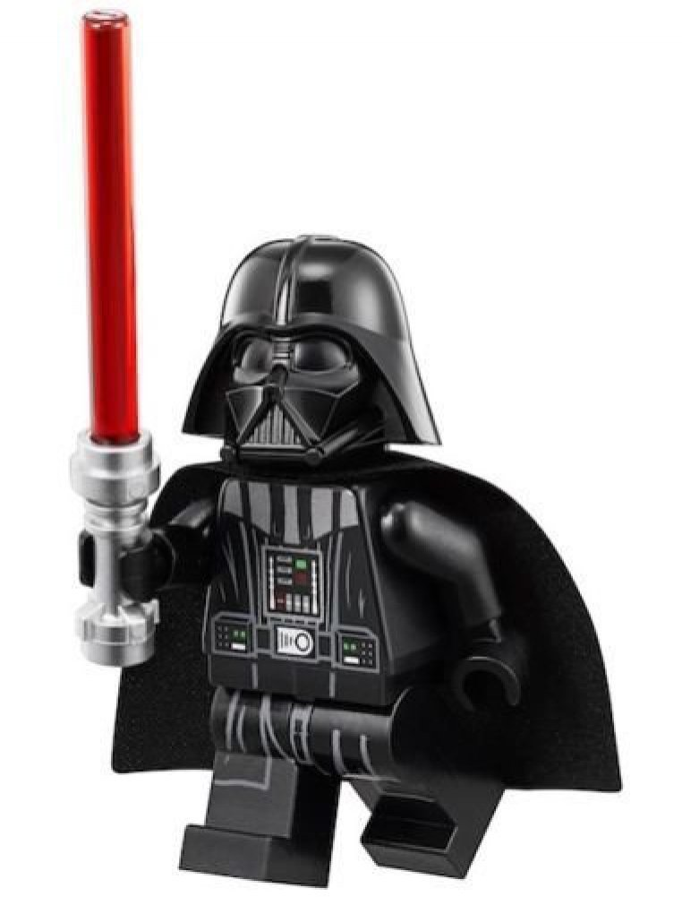 LEGO Star Wars Minifigure - Darth Vader with Face Reveal Underneath Helmet