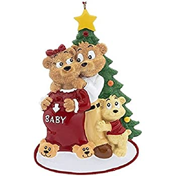 Amazon.com: A Pregnant Couple Personalized Christmas ...