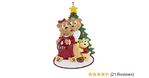 Fabulous Amazon.com: Expecting Family Pregnancy Christmas Ornament: Home  PL25