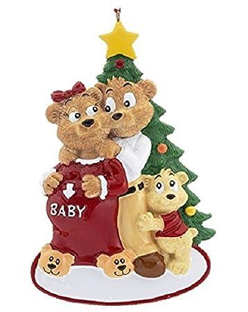 Best Amazon.com: Expecting Family Pregnancy Christmas Ornament: Home  TT77