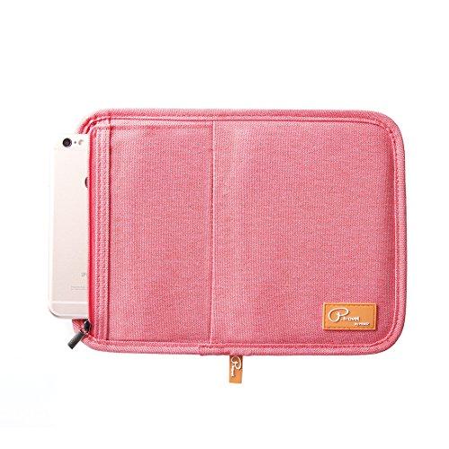 SUSU Travel Passport Wallet Case Family Passport Holder Organizer 4 Passport Cover for Women, Mom, Girls by SUSU (Image #1)