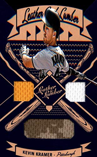 2019 Leather and Lumber Leather/Lumber Jerseys Baseball #29 Kevin Kramer Jersey/Relic Pittsburgh Pirates