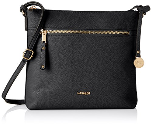 L Women's Schwarz Shoulder Black Bag Credi Maxima 1 qSxnqwR1Ar