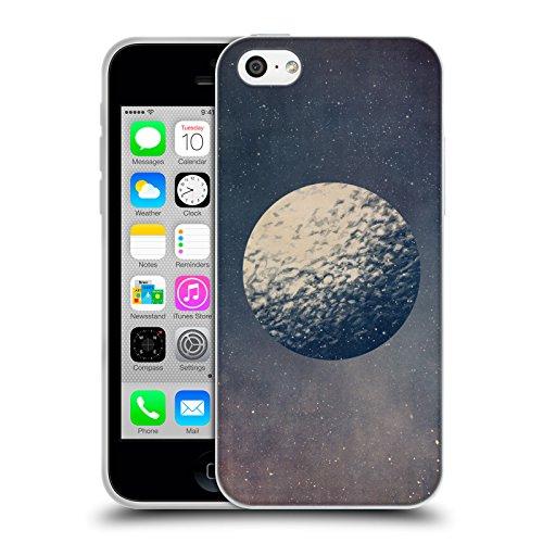 Officiel Tracie Andrews Lune Espace Étui Coque en Gel molle pour Apple iPhone 5c