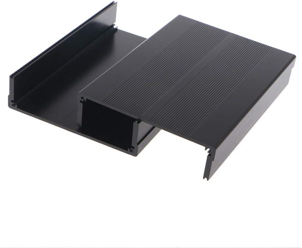 Yuanmaoao Bo/îtier en aluminium pour projet /électronique PCB Instrument Bo/îte de jonction 150 x 105 x 55 mm