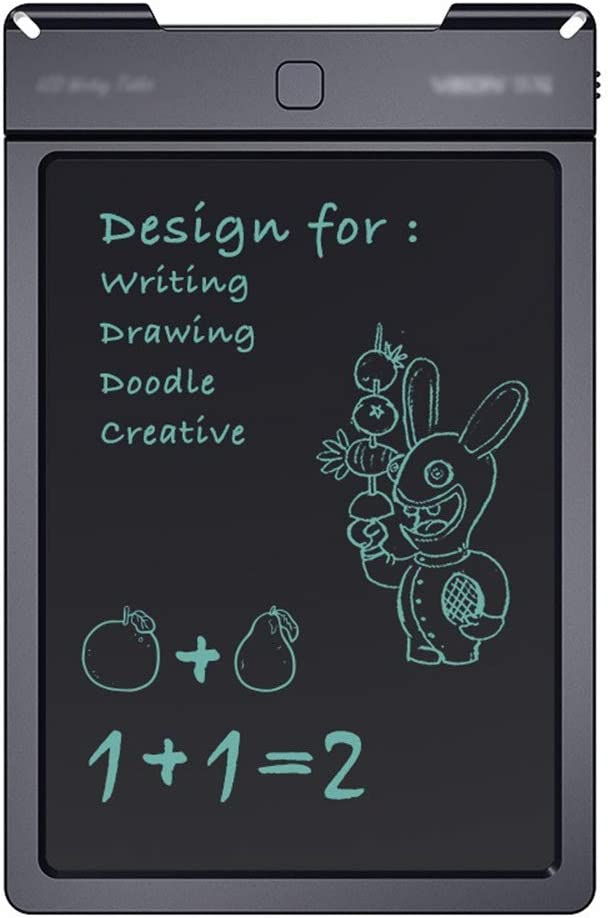 Smart Paper for Drawing Includes Stylus Pen for Kids and Adults for Home School,Office Color : Black, Size : 13 inches Electronic Graphics Tablet Creative 13 Inches LCD Writing Tablet