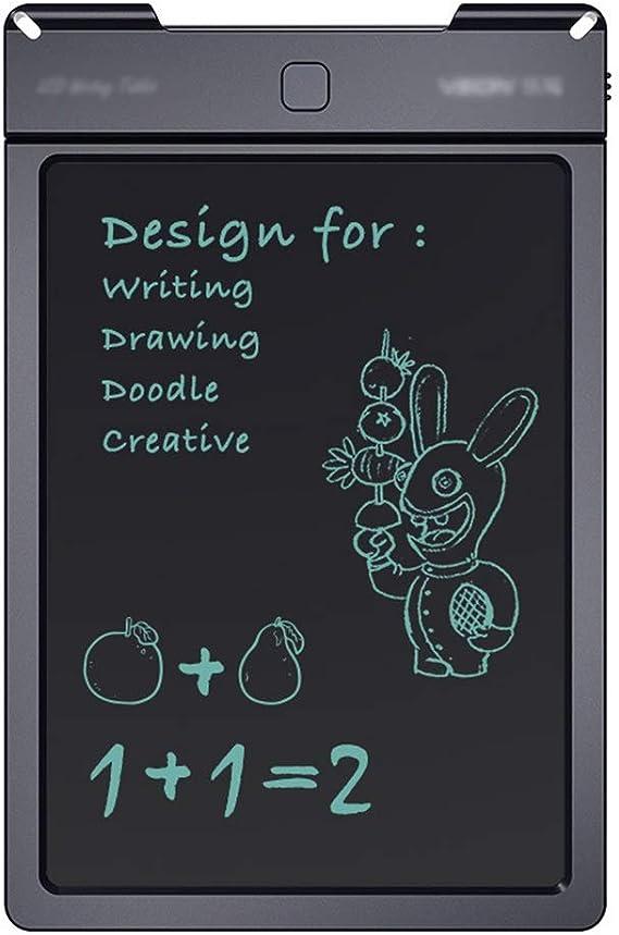 実用的な液晶ライティングボード ドローイングを含むスタイラス描画タブレット学習ツールのための13インチLCD手書きパッドスマートペーパー 便利で軽量 (色 : Black, Size : 13 inches)