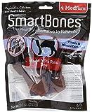 SmartBones Beef Flavor Rawhide-Free Dog Bones and Chews, Medium-8 Pieces/Pack