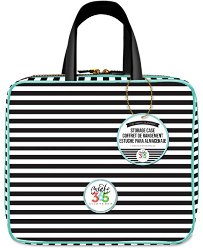 ideas Striped Storage Case Planner