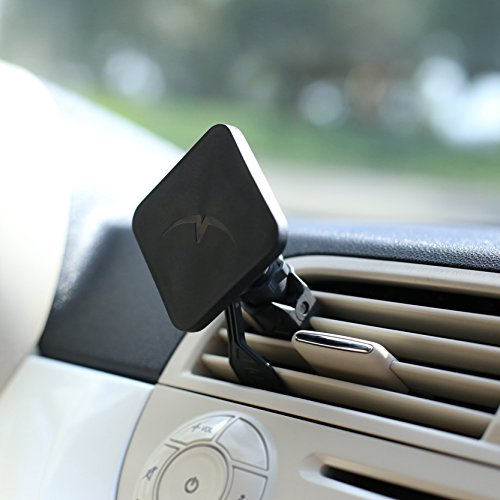 Mountek-AIRSNAP-Air-Vent-Car-Mount-for-Cell-Phones-Smartphones-Phablets-and-Mini-Tablets-Frustration-Free-Packaging-Black