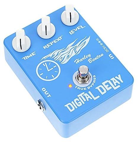 Harley Benton Digital Delay Efectos para Guitarra Eléctrica ...
