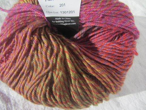 (Knitting Fever Painted Sky Superwash Yarn Self Striping Color 201)