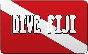 Makoroni - DIVE FIJI Scuba Diving Des#1 Refrigerator Wall Magnet 2x3 inc