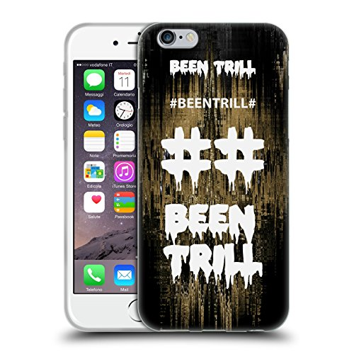 Official Been Trill Fast Lane Glitch Soft Gel Case for Apple iPhone 6 / 6s