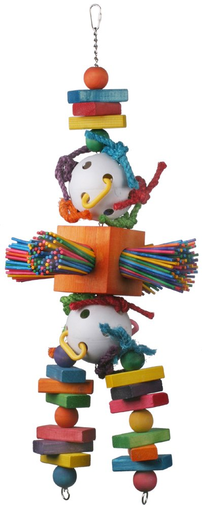 Super Bird Creations 30 by 11-Inch Willy Nilly Bird Toy, X-Large by SUPERBIRD