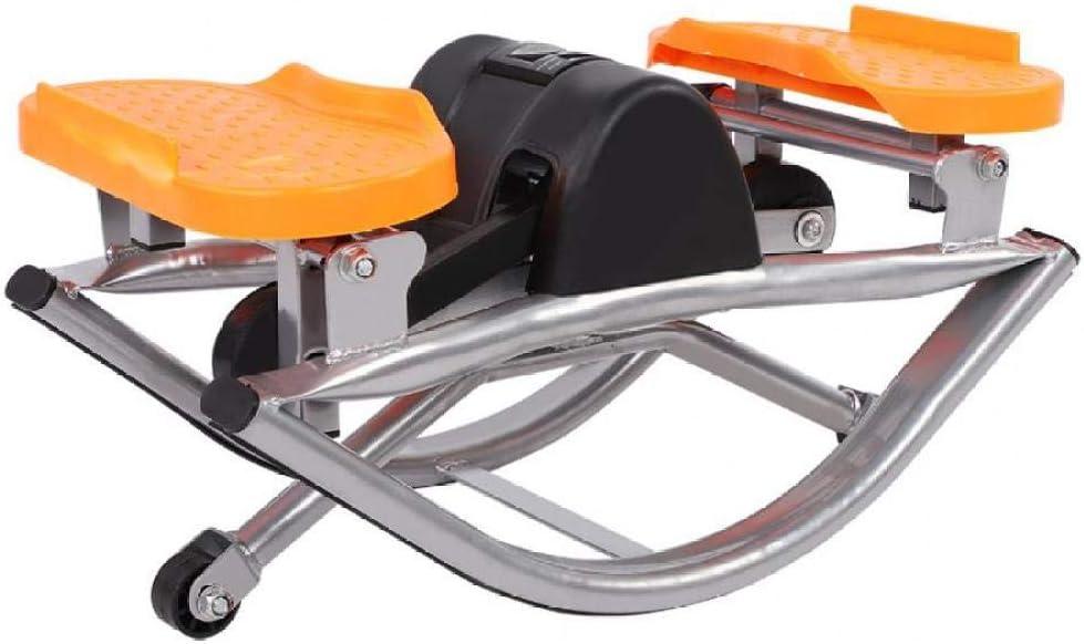 WYQAU Elíptica Generator Fitness Deporte Ejercicio Stepper Steel Deporte Ejercicio con Pantalla LCD Equipo de Gimnasia Paso a Paso para Gimnasio en casa 01