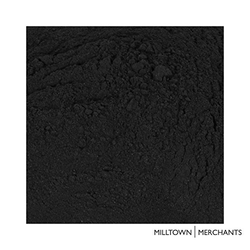 Milltown Merchants 8 oz Charcoal Black Grout - Great for Mosaic Making - 1/2 pound of Mosaic Tile (Mosaic Art Grout)