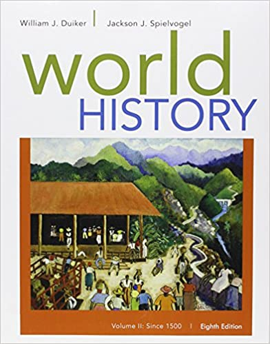 Amazon bundle world history volume ii since 1500 loose leaf bundle world history volume ii since 1500 loose leaf version 8th lms integrated for mindtap 1 term 6 months printed access card 8th edition fandeluxe Choice Image