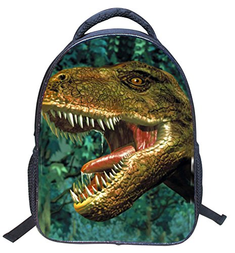 3D Dinosaur Printed Kids Backpack Toddler Waterproof School Bags for Kindergarten Dinosaur2 by Mysticbags