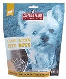 Superior Farms Pet Provisions Treat Lamb Lung Itty Bits, 3 Oz