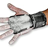 JerkFit WODies Full Palm Protection to Reduce Hand Tearing While Adding Crucial Wrist Support for Weightlifting, Workouts WODs, Cross Training, Fitness and Calisthenics (Grey Camouflage, Small)